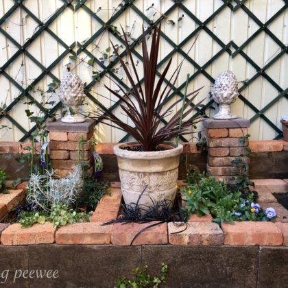 壁泉ふう花壇