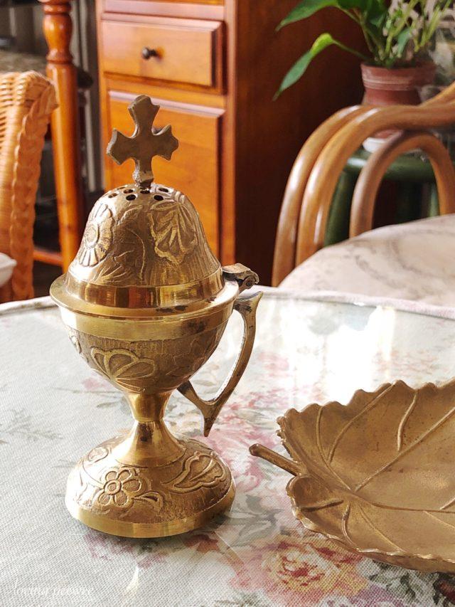 真鍮ビンテージ香炉