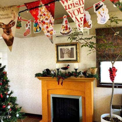 クリスマスの準備は着々と