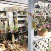 ガーデンハウスのシェードリメイク